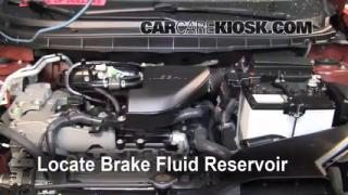 2008-2013 Nissan Rogue Brake Fluid Level Check