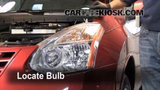 Parking Light Change 2008-2013 Nissan Rogue