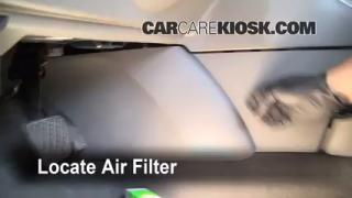Cabin Filter Replacement: Nissan Sentra 2007-2012