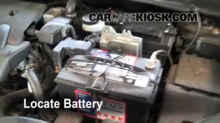 Battery Replacement: 2007-2012 Nissan Sentra