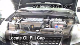 How to Add Oil Nissan Sentra (2007-2012)
