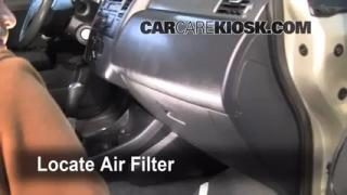 Cabin Filter Replacement: Nissan Versa 2007-2012