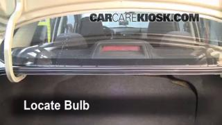 Third Brake Light Bulb Change Nissan Versa (2007-2012)