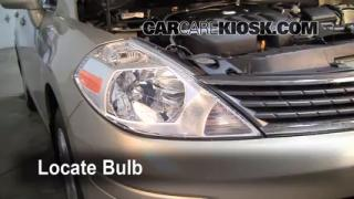 Parking Light Change 2007-2012 Nissan Versa