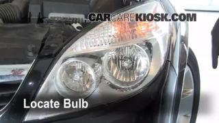 Highbeam (Brights) Change: 2007-2009 Saturn Aura