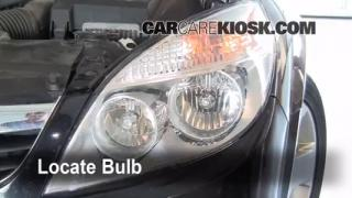 Headlight Change 2007-2009 Saturn Aura