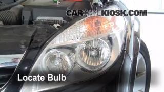 Parking Light Change 2007-2009 Saturn Aura