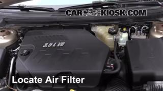 Air Filter How-To: 2007-2009 Saturn Aura