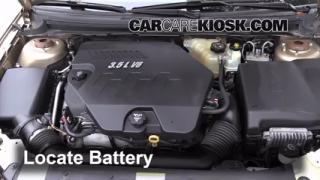 How to Clean Battery Corrosion: 2007-2009 Saturn Aura