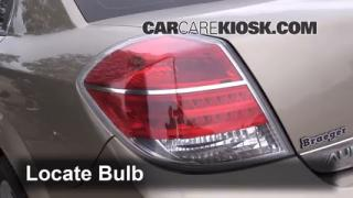 Brake Light Change 2007-2009 Saturn Aura