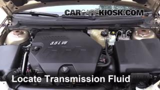 Add Transmission Fluid: 2007-2009 Saturn Aura