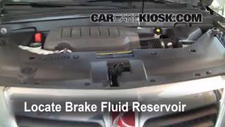 Add Brake Fluid: 2007-2014 GMC Acadia