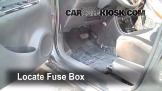 2008-2013 Scion xD Interior Fuse Check