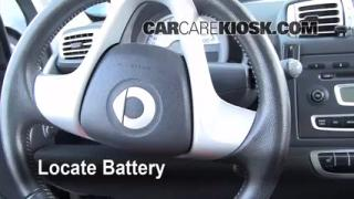 Battery Replacement: 2008-2013 Smart Fortwo