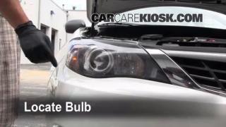 Highbeam (Brights) Change: 2008-2011 Subaru Impreza