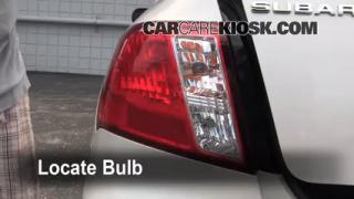 Tail Light Change 2008-2011 Subaru Impreza