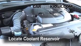 Coolant Level Check: 2003-2009 4Runner