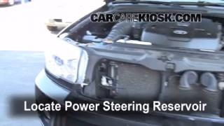 Follow These Steps to Add Power Steering Fluid to a Toyota 4Runner (2003-2009)
