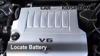 Battery Replacement: 2005-2012 Toyota Avalon