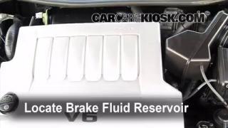 2005-2012 Toyota Avalon Brake Fluid Level Check