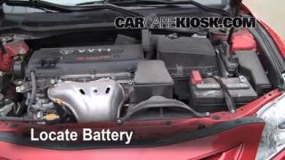 Battery Replacement: 2007-2011 Toyota Camry