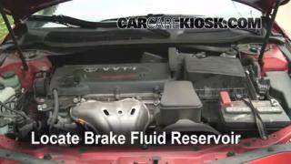 Add Brake Fluid: 2007-2011 Toyota Camry