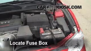 Blown Fuse Check 2007-2011 Toyota Camry