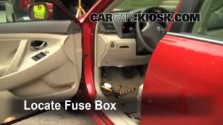 2007-2011 Toyota Camry Interior Fuse Check