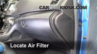 2008-2010 Toyota Highlander Cabin Air Filter Check