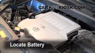 Battery Replacement: 2008-2010 Toyota Highlander