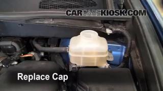 Add Brake Fluid: 2008-2013 Toyota Highlander