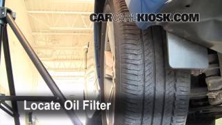 Oil & Filter Change Toyota Highlander (2008-2010)