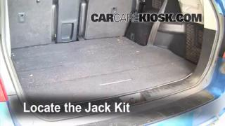2008-2010 Toyota Highlander Jack Up How To