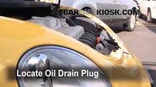 Oil & Filter Change Volkswagen Beetle (1998-2010)