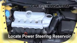 Follow These Steps to Add Power Steering Fluid to a Volkswagen Beetle (2006-2010)