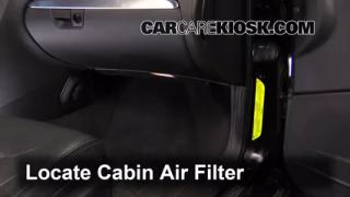 Cabin Filter Replacement: Volvo V70 2001-2007