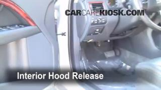 Open Hood How To 2008-2010 Volvo XC70