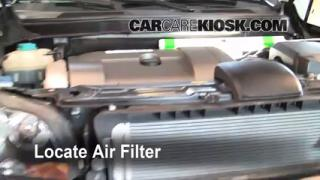 2003-2013 Volvo XC90 Engine Air Filter Check