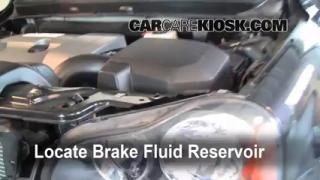 2003-2013 Volvo XC90 Brake Fluid Level Check