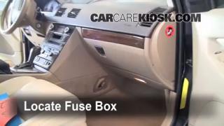 2003-2013 Volvo XC90 Interior Fuse Check