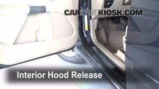 Open Hood How To 2003-2014 Volvo XC90