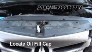 How to Add Oil Acura MDX (2007-2013)