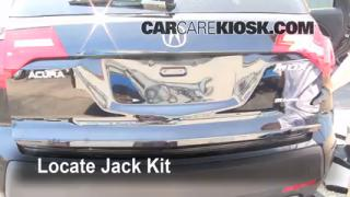 Fix a Flat Tire: Acura MDX (2007-2013)