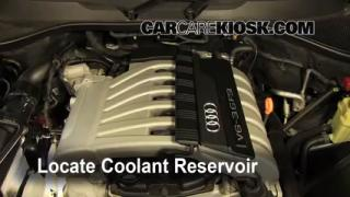 How to Add Coolant: Audi Q7 (2007-2014)