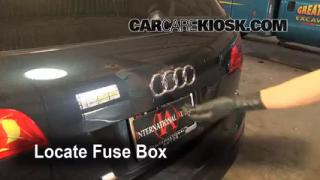 Blown Fuse Check 2007-2014 Audi Q7