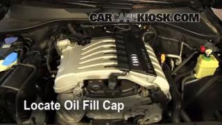 How to Add Oil Audi Q7 (2007-2014)