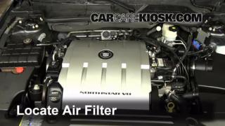 Air Filter How-To: 2006-2011 Cadillac DTS