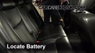 Battery Replacement: 2006-2011 Cadillac DTS