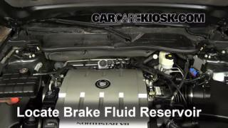 2006-2011 Cadillac DTS Brake Fluid Level Check