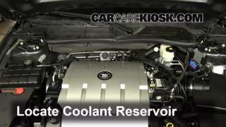 Coolant Level Check: 2006-2011 DTS